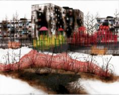 Erik Benson Detouring at Edward Tyler Nahem Fine Art