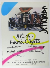 Art of Found Objects Poster