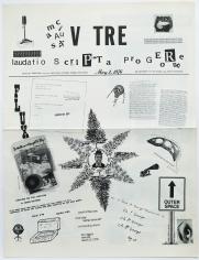 FLUXUS maciuNAS V TRE FLUXUS laudatio ScriPTa pro GEoRge. Fluxus newspaper No. 10
