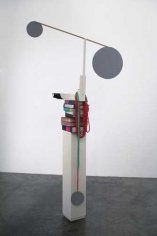 Books and Sculptures, 2007. Wood, plaster, paper, 86 x 43 x 12 inches (218.4 x 109.2 x 30.5 cm). MP 6