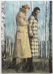 Wool mark, 2010. Oil on canvas, 76.77 x 55.12 inches (195 x 140 cm). MP 68
