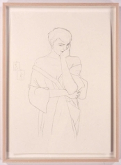 Pilar, 2005. Pencil drawing on paper, 23.4 x 16.5 inches. MP D-6
