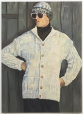 Cardigan Jedrek, 2010. Oil on canvas, 76.77 x 55.12 inches (195 x 140 cm). MP 67