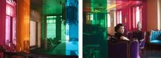 Glass House, Prism (Ten Thousand Waves), 2010. 2 Endura Ultra photographs, 70.87 x 94.49 inches each (180 x 240 cm). MP 84