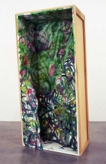 Cargo Cult Barbie, 2005. Wood, acrylic and oil, 73.5 x 32 x 25.25 inches (186.7 x 81.3 x 64.1 cm). MP 160