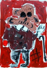 Untitled (Wanderer), 2007. Oil on canvas. MP 11