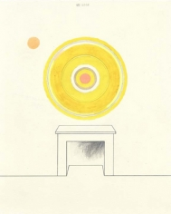 Another Mouth to Feed (in Yellow), 2003. Graphite, gouache, ink and colored pencil on paper, 10 1/2 x 8 inches. MP D-82