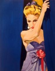 Joy Street, 1983. Acrylic on canvas, 30 x 24 inches (76.2 x 61 cm). MP 29