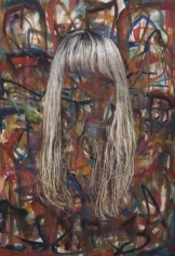 Untitled (Blonde Hair), 2007. Oil on canvas, 70 x 46 inches (177.8 x 116.8 cm). MP# 191