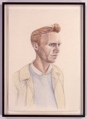 TinTin 1, 2005. Colored pencil drawing on paper, 23.4 x 16.5 inches. MP D-7