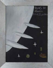 Filling The Heavens, 2007. Oil on board, 22-1/8 x 28-1/8 inches (55.6 x 70.8 cm). MP 17