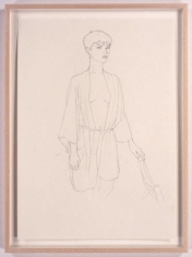 Rowan, 2005. Pencil drawing on paper, 23.4 x 16.5 inches (59.4 x 41.9 cm). MP D-2