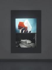 Tris Vonna-Michell. Postscript III (Berlin), 2014. Installation view at Metro Pictures, New York, 2014.