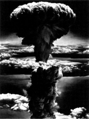 Untitled (Nagasaki, B), 2003. Charcoal on mounted paper, 96 x 72 inches. MP D-552