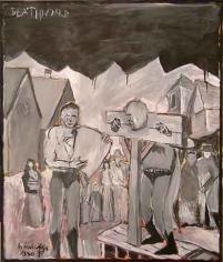 Deathworld, 2005. Oil on board, 24.61 x 20.08 inches (62.5 x 51 cm). MP 5