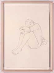 Frankie, 2005. Pencil drawing on paper, 23.4 x 16.5 inches (59.4 x 41.9 cm). MP D-3