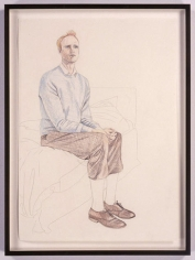 TinTin 2, 2005. Colored pencil drawing on paper, 23.4 x 16.5 inches. MP D-8