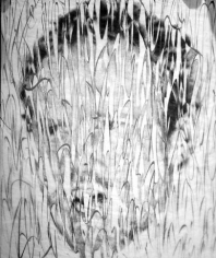 Untitled, 2003. Marker, paper, graphite, and glassine, 17 x 14 inches. MP D-340
