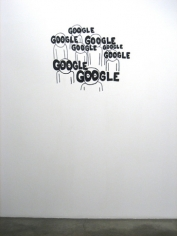 Google, 2009. Wall drawing, 30-1/2 x 36-1/2 inches (74.9 x 90.2 cm). MP 66