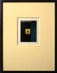 Yellow Mat, 2003/2004. Digital cibachrome (museum mounted), 4 x 3 inches. Edition of 10. MP 533