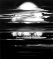 Marshall Island (Bomb Noir), 2003. Charcoal on mounted paper, 79 x 72 inches. MP D-547