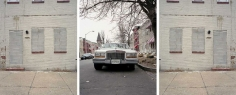 Baltimore Series (Street Life/Still Life), 2003. Three color photographs, 48.62 x 39.37 inches each. Edition of 6. MP 14