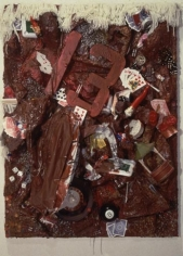 You Must Pay, 1993. Mixed media, 48 x 36 x 15 inches (121.9 x 91.4 x 38.1 cm). MP 231