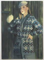 Jacket Oktawia, 2010. Oil on canvas, 76.77 x 55.12 inches (195 x 140 cm). MP 66