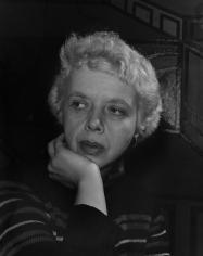 Lisette Model, New York, 1946 - by Todd Webb