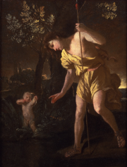 Nicolas Poussin Narcissus Private Collection Nicholas Hall Art Gallery Dealer Old Masters