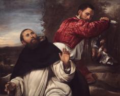 Giovanni Girolamo Savoldo Death Saint Peter Martyr Art Institute of Chicago Nicholas Hall Art Gallery Dealer Old Masters