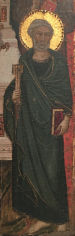 Master of Monte Oliveto Saint Peter Private Collection Nicholas Hall Art Gallery Dealer Old Masters