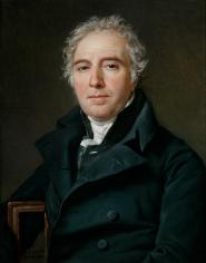 Jacques-Louis David Portrait of Ramel de Nogaret Private Collection Nicholas Hall Art Gallery Dealer Old Masters