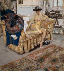 Édouard Vuillard Nu sur le Canapé Private Collection Nicholas Hall Art Gallery Dealer Old Masters