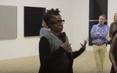 Jennie C. Jonesleads an exhibition walkthrough ofJennie C. Jones: Compilationat the Contemporary Arts Museum Houston, TX (2016)