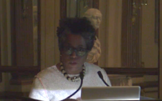 Jennie C. Jones speaks at the Institute of Fine Arts, New York, NY (2016)