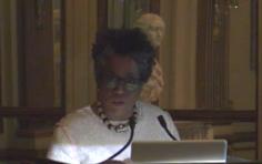 Jennie C. Jones speaks at the Institute of Fine Arts, New York, NY (2016)