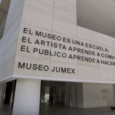 """Time Lapse: Luis Camnitzer's """"The Museum is a School"""" at Museo Jumex"""