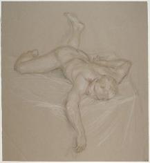 Paul Cadmus, Sleeping Nude Z14 (n.d.)