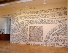 Installation View: And so it began…, 2003