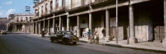 The Black Car, Havana, 1998, C-print, 39 1/2 inches x 94 inches