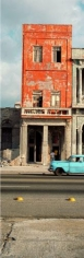 The Orange Building, Havana, 1998, C-print, 96 x 37 1/2  inches