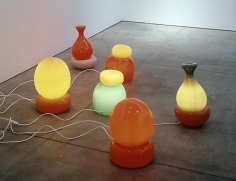 Untitled (set of 6 lamps)