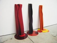 Untitled (set of three Twizzlers)