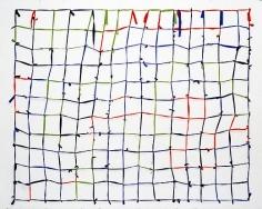 Untitled 2002 Bluebox, videoblau, videorot, greenbox Trevira Televison
