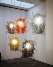 Untitled (set of 5 hanging lamps)