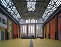 Historic Turbine-Hall of the Stadtwerke Düsseldorf