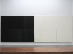 Wade Guyton Installation view 2