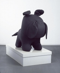Untitled (The Purple Bulldog with Box)