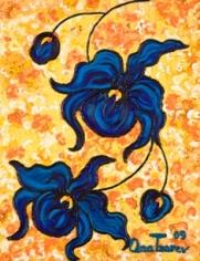 Golden Sunset - Dendrobium coeleste, 2009 n3661